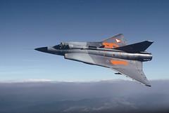 [フリー画像] [航空機/飛行機] [軍用機] [戦闘機] [サーブ 35 ドラケン] [Saab 35 Draken]      [フリー素材]
