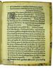 Woodcut initial and acquisition notes in Coniuratio malignorum spirituum