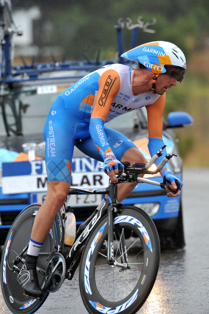 Millar close in wet ITT – Vuelta a Espana, stage 7