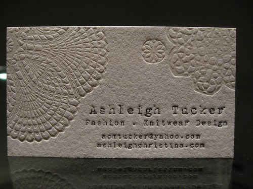 Ashleigh Tucker Business Card