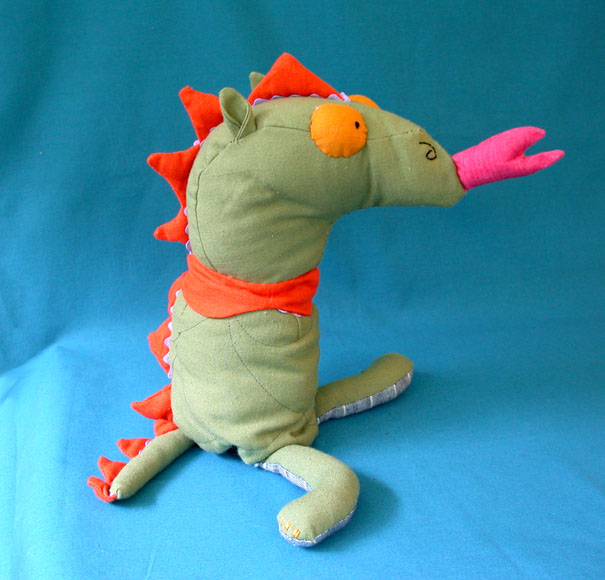 George and The Dragon Flip Doll