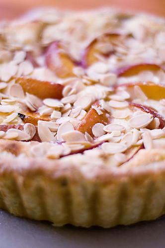 nectarine tart - middle