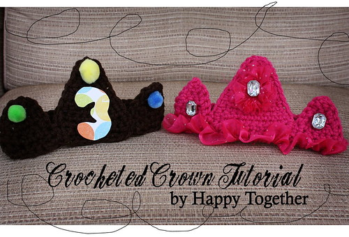 Crocheted Crown Tutorial