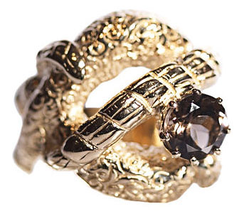Charlotte Bjorlin D'Elia Knot Ring at Barneys New York from barneys.com