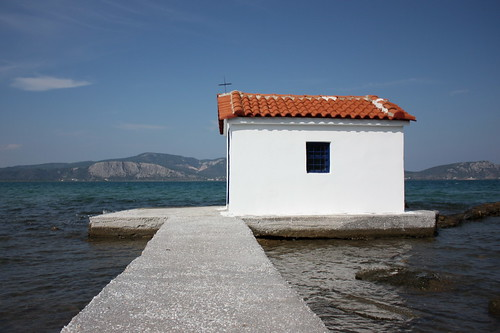 Church in the sea