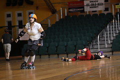 Albany All Stars105 (chimpmitten) Tags: rollerderby albany albanyny albanyallstars