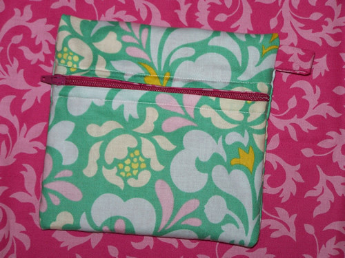 project 6: keep it like a secret zipper pouch