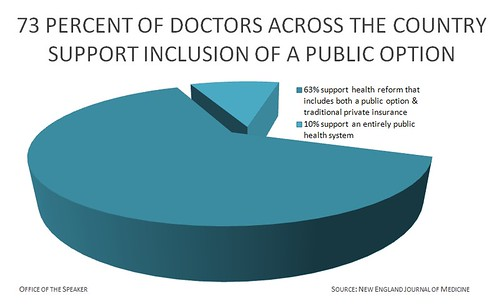 73 Percent of Doctors Support Public Option