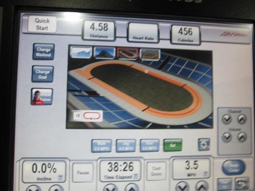Track Work Out!