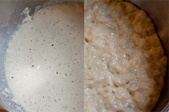 Dough, pre-rice