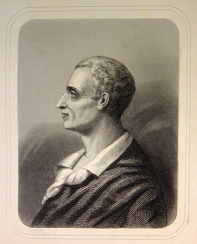 la critique ancien régime Montesquieu