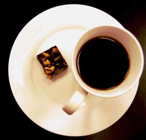 Chokladbars med mycket nötter