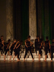 """step"" dancing (tsaaby) Tags: architecture copenhagen dance performance dans kbenhavn nordvest arkitektur bispebjerg glyptoteket dancehouse witraz dansinordvest dansehus"