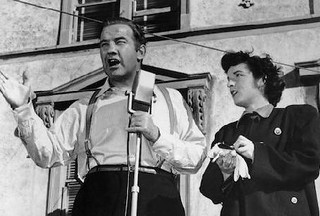 Broderick Crawford & Mercedes McCambridge in All the King's Men