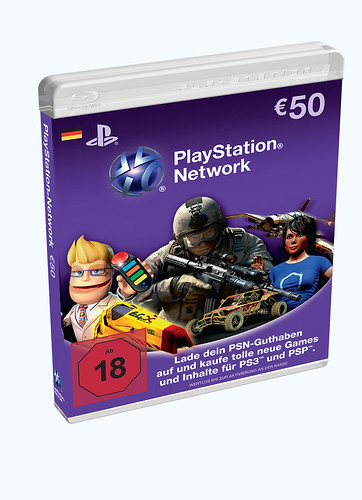 PlayStation®Network Cards 50 Euro