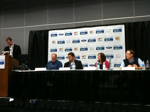 Social media success stories panel