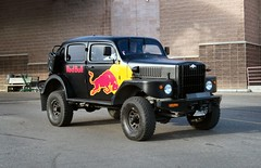1956 Red Bull Volvo Sugga (dave_7) Tags: red truck volvo 4x4 taxi military bull suv sugga