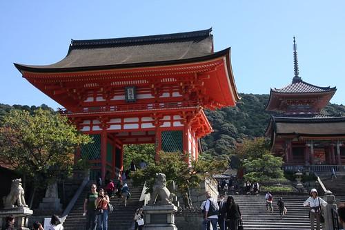 Kiyomizu-dera Temple scenery