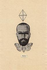 _ (pearpicker.) Tags: collage illustration beard moth bob cristal pearpicker