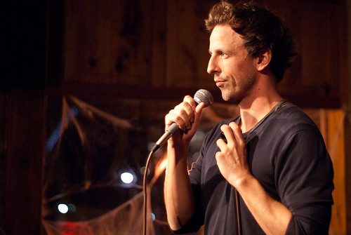 Seth Meyers at Spirits in Toronto. Photo by Sharilyn Johnson