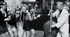 The day I became a Jive fan (Ian Brumpton) Tags: street uk england blackandwhite bw london blackwhite interestingness fifties dancing noiretblanc candid livemusic smiles monotone monochromatic southbank fanclub jamming streetperformer 50s jive streetscenes reportage doublebass streettheatre summerinthecity jiveaces jiving livegigs blackwhitephotos berthardy ifmusicbethefoodoflove scattidistrada flirtinis streetphotographycandidphotography