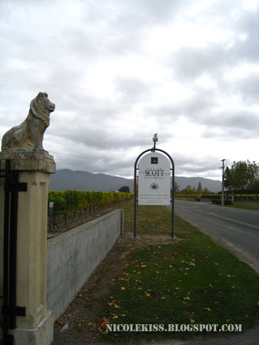 allan scott winery outer entrance