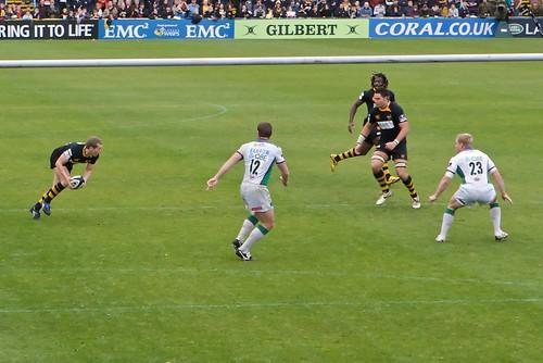 London Wasps v Leeds Carnegie - 1 November 2009