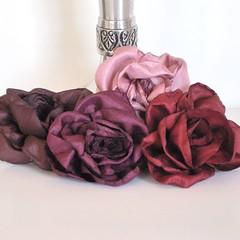 pembe yakma güller