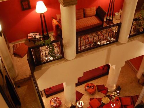 Corridors de Riads à Marrakech