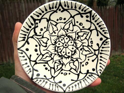 Mandala Plate II