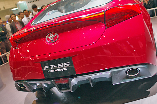 Tokyo Motor Show '09 TOYOTA-FT-86-concept01