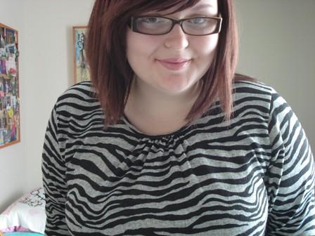 zebra smiles