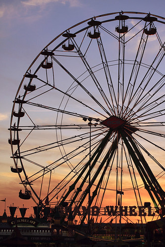 Grand Wheel at Sunset