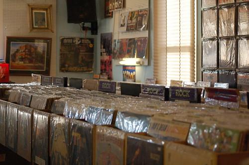 So much vinyl