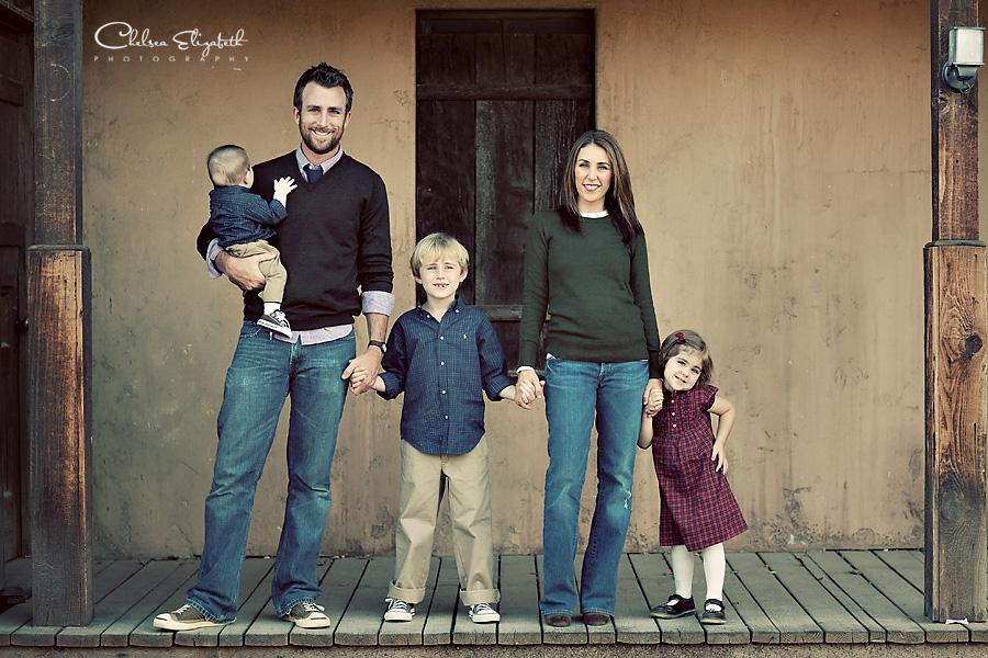 Vintage Ranch Ralph Lauren outfit family portrait image