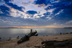 Metung Beach Sunset (Darren McInnes) Tags: sunset beach water clouds sand geocity exif:iso_speed=200 exif:focal_length=16mm camera:make=nikoncorporation camera:model=nikond90 exif:make=nikoncorporation geostate geocountrys exif:model=nikond90 exif:lens=160850mmf3556 exif:aperture=10 geo:lon=14785653833333 geo:lat=37896876666667