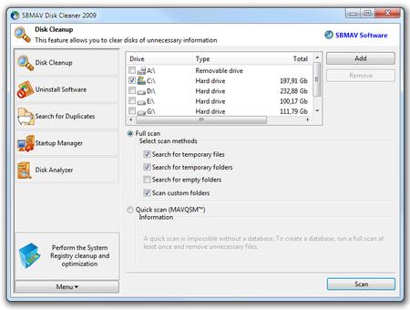 SBMAV Disk Cleaner 3.38