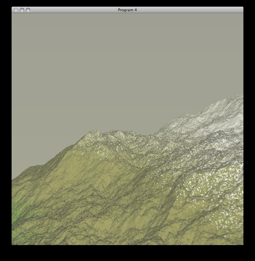 CPE 471 Fractal Landscapes