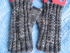 FF Cabled mitt
