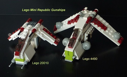 Lego Star Wars Mini Republic Gunship Star Wars Lego Mini Republic