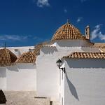 Ibiza: Cúpulas de la Iglesia de Santo Domingo - Casco Histórico de Dalt Vila
