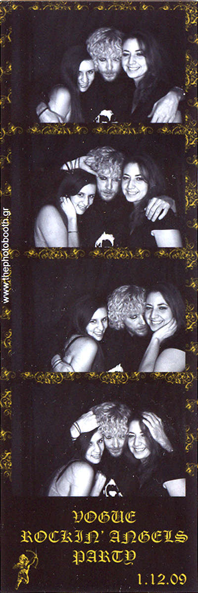 Me, Alex and Thaleia in the photobooth