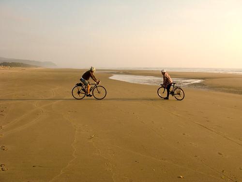 Cycling the Oregon Coast: Yachats