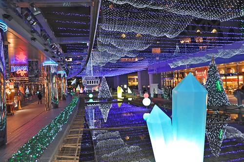 Tokyo Dome City, cristal avenue