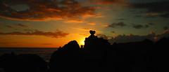 sunset for my love (-Pi- ( Mal VALLAT )) Tags: longexposure sunset sea sky mer nikon ciel 1870mm runion brume roche trax couchdesoleil ocan poselongue manapany polarisant nd8 nd4 ocanindien d80 ledelarunion indianocan fourchaux vosplusbellesphotos 1870mmlense