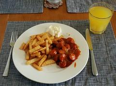 Heißhunger auf Currywurst
