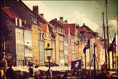 Copenhagen - Nyhavn (Manlio Castagna) Tags: texture vintage copenhagen denmark nyhavn harbour manlio manliok