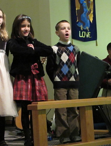 Christmas Concert singing