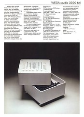 Wega 1973 Studio 3300 Hifi (teddy_qui_dit) Tags: bar vintage advertising 60s stereo 70s seventies publicit hifi sixties wega vernerpanton usermanual