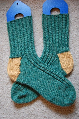 FO: Dad's Christmas socks